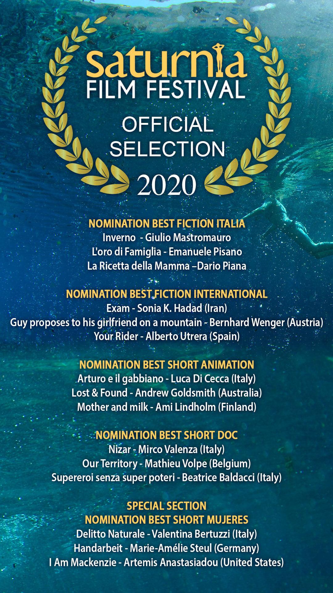 116634502 599050923981322 7817327829347055985 o - Saturnia Film Festival 2020